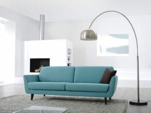 nowoczesne wnętrze z sofą Rucola, meble Sits